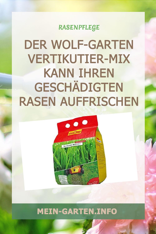 Wolf-Garten Vertikutier-Mix 4 in1 V-Mix 125 Test und Erfahrungen